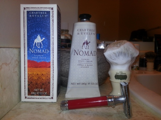 Crabtree and Evelyn - Nomad shaving cream