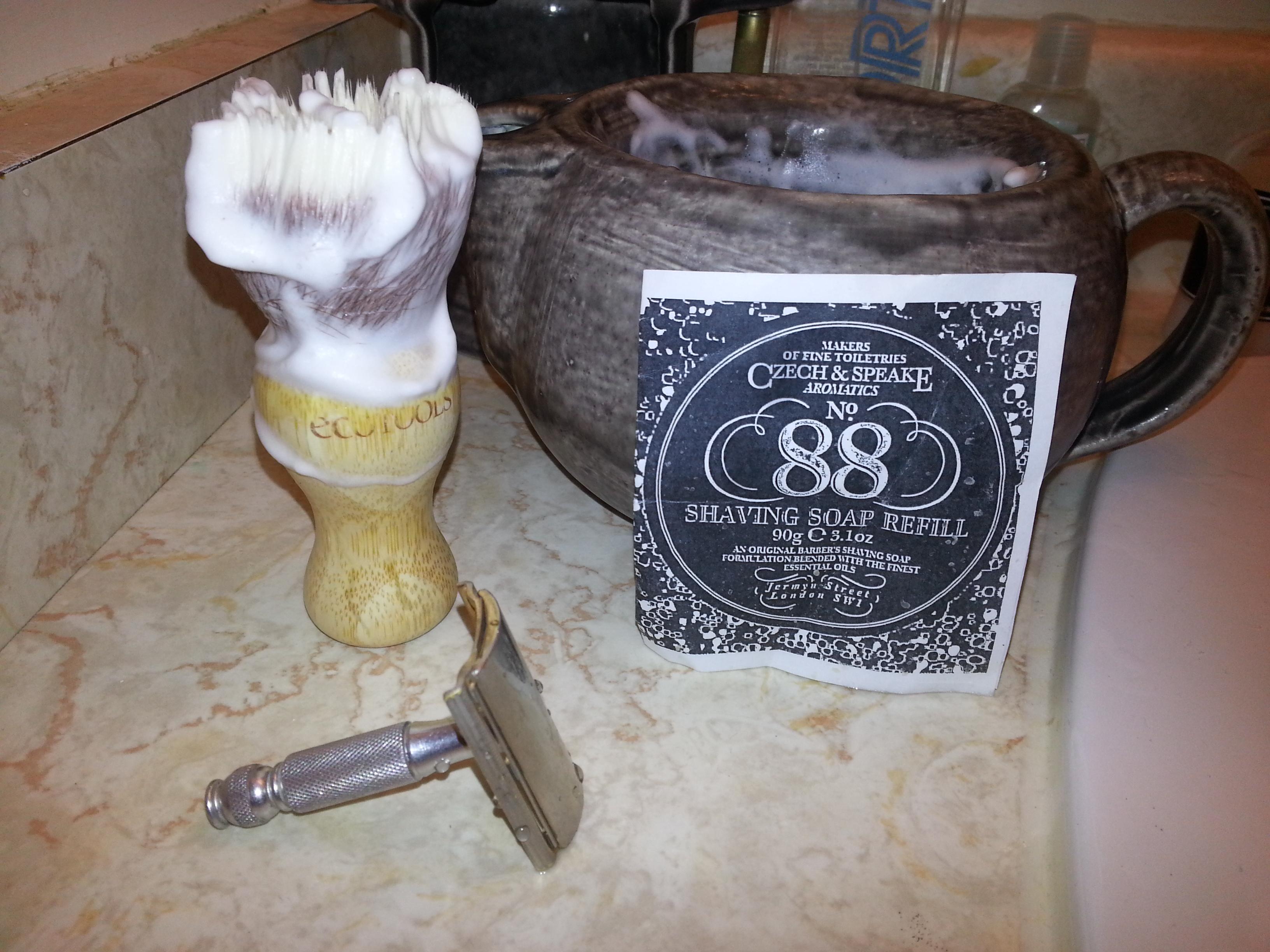 Czech and Speake – no. 88 shaving soap | Palpz's Shaving Soap Reviews
