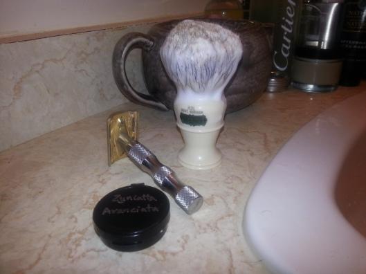 Al's Shaving Products - SOTM - Zenyatta Aranciata