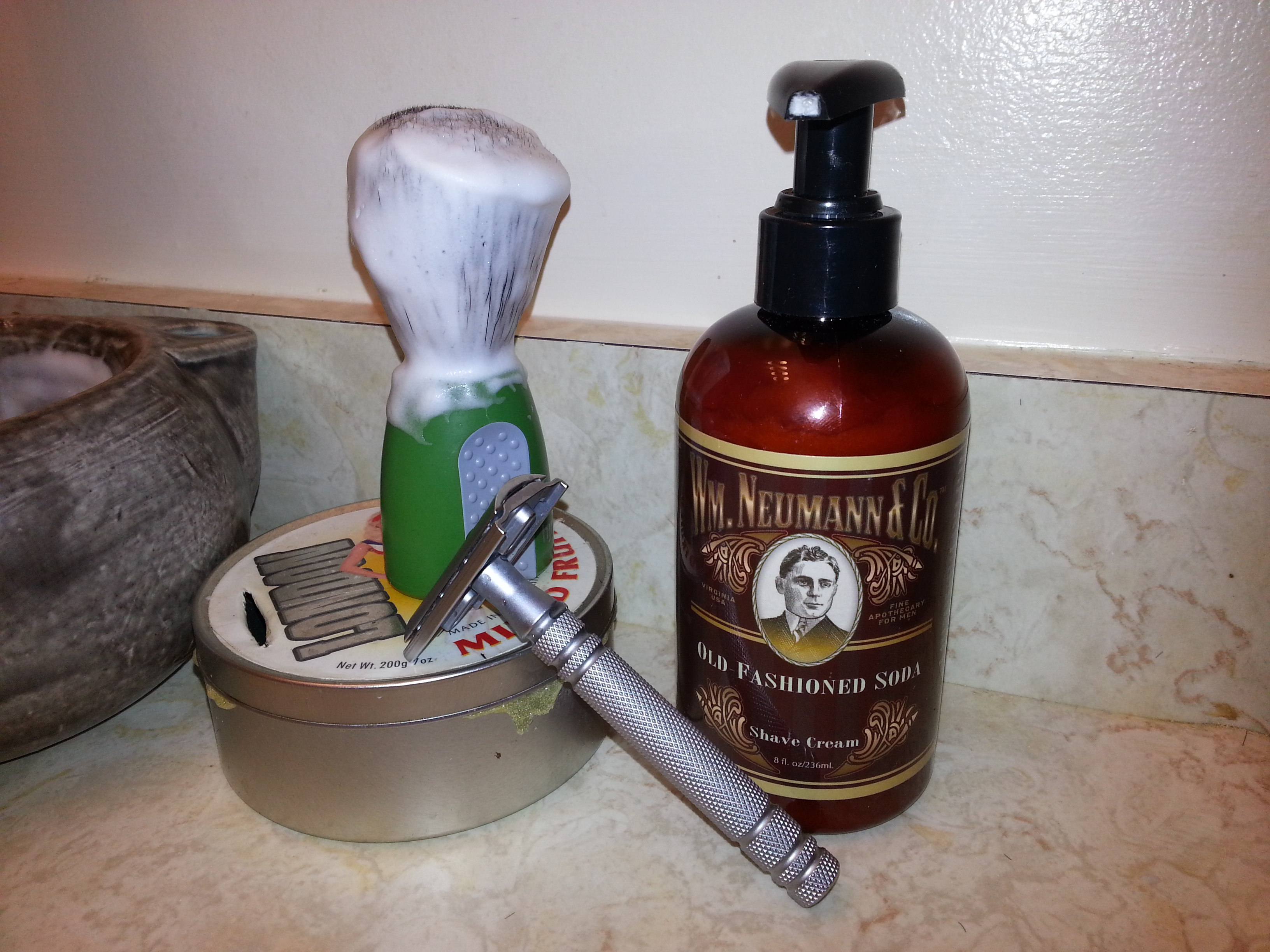 Old fashioned shave houston MyConfinedSpace NSFW