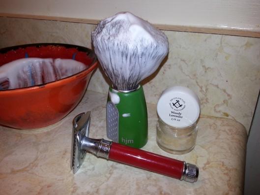 LA Shave - Woody Lavender
